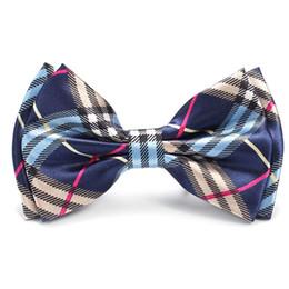 "Wholesale fashion scotland - New Arrival Fashion 4 ""Scotish Plaid   Scotland Checker"" Pattern Bow tie Men's Unisex Tuxedo Dress Party ties  Classic Butterfly"