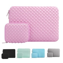 macbook 13 inch waterproof Coupons - Mosiso Diamond Waterproof Lycra Sleeve Bags Mac book Newest Pro 13 for Laptop 13 inch Bag Pouch Cover Netbook Accessories