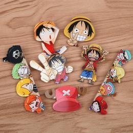 2019 un jeu d'anime FFFPIN One Piece 1 Pièce Singe D Luffy Chopper Broche Expression Badge Pin Coin Icône Japon Populaire Anime Cosplay Jeu de Rôle un jeu d'anime pas cher