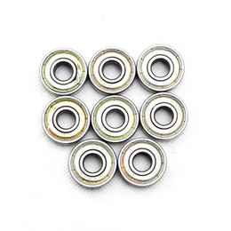 Wholesale Red Scooters - Pro skate bearing Red seal 8pcs Skateboard Bearings 608 2RS ABEC 9 ABEC 11 level For Skate Shoes Patins Scooter Skateboard Bearing