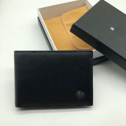 Argentina New High-End Men's Leather Business Pequeña cartera Short Multi-Function Holder MB Bolsa de regalo de lujo Titular de la tarjeta de crédito Pocket Photo M B Carteras supplier high end gift bags Suministro