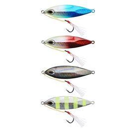 Wholesale Vertical Jigs - 120g Rigged Vertical Slow Jig Fishing Lures Shore Jigs Bait luminous Jigging Baits