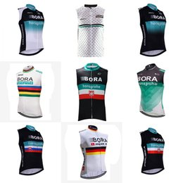 Wholesale windproof cycling vest - BORA team Cycling Sleeveless jersey Vest Windproof Cycling Jackets MTB Road Bicycle Jerseys Top Clothing Wind Coat D404
