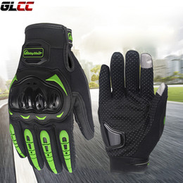Wholesale Finger Support Gloves - Motorcycle Gloves Full finger Support Screen Touch Ergonomic Protection luva motociclista Bicycle Riding gloves alpine star
