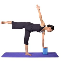 Wholesale Foam Block Black - Balight Professional Yoga Block Lightweight Versatile Fitness And Balance Odor Free Brick High Density EVA Foam Exercise