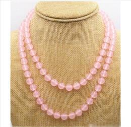 "Wholesale light green jade pendant gold - Wholesale - NEW Charming 8mm light pink jade beads gemstone necklace 37 ""AAA"