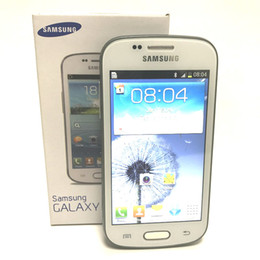 Telefone s7562 on-line-Samsung GALAXY Tendência Duos S7562i S7562 S7572 4.0 Polegadas 4G ROM Android 3G WCDMA Recondicionado Original Desbloqueado Celular