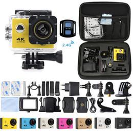 2019 telecomandos de vídeo Mais barato Câmera de Ação 4K F60R WI-FI 2.4G Controle Remoto Câmera de Vídeo À Prova D 'Água 16MP / 12MP 4 K Gravador de Mergulho 30FPS JBD-N5 desconto telecomandos de vídeo