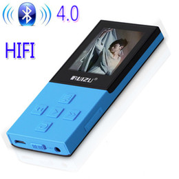 Wholesale Read Games - Original RUIZU X18 Bluetooth Sport MP3 Player with 8G can playing130Hours high quality lossless Recorder FM for bluetooth speak