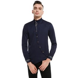 Wholesale Broadcloth Weave - Men Shirt Slim Fit Youth Fashion Jacquard Weave Button Design Casual Wear Solid Color Top Clothes