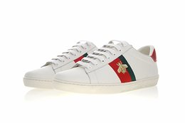Wholesale cheap quality gifts - Hotsell cheap Top Quality white black tiger shoes Gift Genuine Leather Designer Sneaker Luxury Brand Mens Women Casual Shoes size 35-45