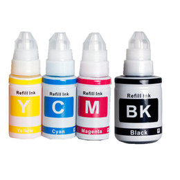 y c Coupons - compatible GI-490 BK ink GI490 C M Y Dye Ink Refill Kit for Canon PIXMA G1400 G2400 G3400 G1000 G2000 G3000 Tank Printer