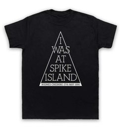 Wholesale Spiked Shirts - I Was At Spike Island T Shirt Widnes Classic Gig
