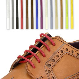 12 Couleurs 1 m * 5 mm Coton ciré Lacets Ronds Robe Mince Corde De Cire Lacets Chaussures Brogues Chaussures Ménage Fournitures Décor À La Maison ? partir de fabricateur