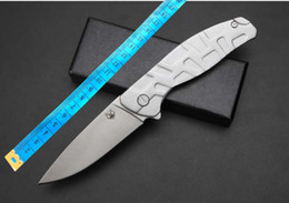 Wholesale United Bears - wholesale united BROWNING Bear steel handle folding knife Camping Hunting Survival Knife Clasp EDC Tools Outdoor folding gift knife