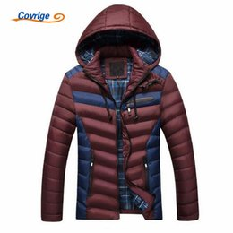 Wholesale Detachable Headphones - Covrlge 2017 New Fashion Man Cotton Coats Comes with Music Headphones Winter Padded Jackets for Men Brand Clothing L-3XL MWM003