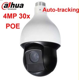 Wholesale Ir Camera Auto - English Version Dahua 4Mp PTZ 30x Network IR PTZ Speed Dome IP Camera SD59430U-HNI to replace SD59430U-HN auto tracking