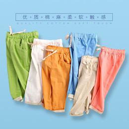 2019 pantaloni fluidi Abbigliamento per bambini Fluid Systems pantaloni 2016 fluidi pantaloni lunghi primavera e autunno Boy girl estate sottile moda casual bambino pantaloni fluidi economici