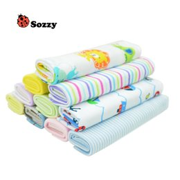 8pcs lot Sozzy Baby Kids Towel Lots Infant Toddler Soft Bath Kerchief Child Wipe Washcloth Coupons
