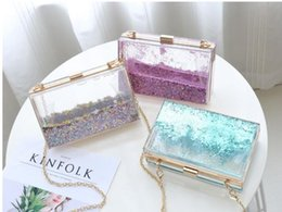 Wholesale Acrylic Box Clutch Purse - designer handbags bags new acrylic magic cube box handbag evening bag high quality women fashion famous purse