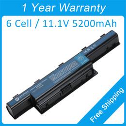 Batteria 6cell online-Batteria per laptop a 6 celle 31CR19 / 652 BT.00603.111 AS10D61 per Gateway NE46R NS41 NS51 NV47 NV51M NV79C NE56R NV51 NV73A NV53