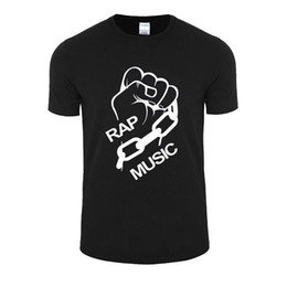 Musik t-shirts online-Ihre Faust Musik T Shirt Sommer Baumwolle Camisetas Top Lose T-Stücke Casual T-Shirts Casual Kurzarm Shirt Tee