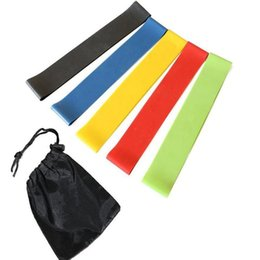 Wholesale Resistance Workout Equipment - Elastic Band for fitness Tension Resistance Band Exercise Workout Rubber Loop Strength Training Fitness Equipment yoga belt Sports Toy 600mm