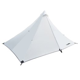 Wholesale Double Layer Tents - 1 Person Tent Double-layer Tent Camping 4 Seasons Waterproof Outdoor Rodless