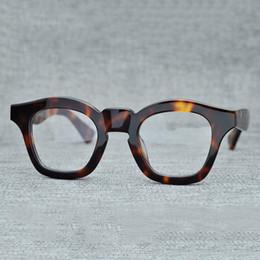 quadros ópticos coloridos atacado Desconto Cubojue Acetato Óculos Homens Mulheres Vintage Grosso Armações de Óculos Homem Prescrição Preto Tortoise Óculos De Miopia Dioptria Masculino