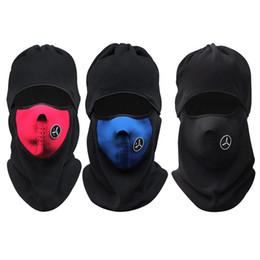 Masque facial course de ski en Ligne-Gros-Hiver Chaud Cyclisme Cap Coupe-Vent Protecteur Du Cou Masque Du Visage Sport Ski Courir Vélo Cyclisme Cou Masque Chapeau Écharpe