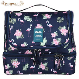 hanging waterproof cosmetic bags Promo Codes - Designer Hanging Makeup Bags Travel Cosmetic Bags Waterproof Nylon Organizers Travel Accessories | Men's & Ladies' Makeup Sets