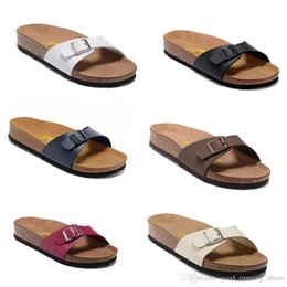 Wholesale Shoes Sex White - Arizona hot summer men s sandals flat shoes cork slippers single sex casual shoes, a flip-flop of all colors, Beach shoes35-45.
