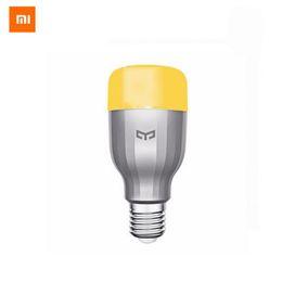 Xiaomi Mi Night Yeelight Smart LED Lámpara Wifi Remote Control RGB Light E27 Colorido Smart Home iluminación LED Bulbo desde fabricantes