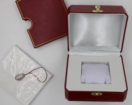 Wholesale wood book box - luxury brand watch Box Cart1r Advanced original trademark box AAA quality bin With certificate book watches box