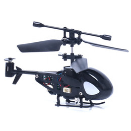 Wholesale Radio Helicopter Toy - JJRC 2017 Good Quality 5012 2CH Mini Rc Helicopter Radio Remote Control Aircraft Micro 2 Channel Black Great Toys Gift For Kids