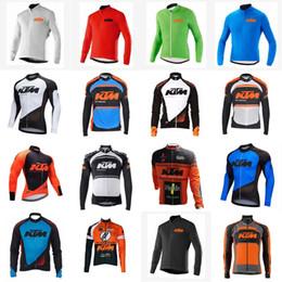 KTM team Maillot manches longues cyclisme Printemps des hommes Automne Vélo VTT Equitation Vêtement de sport D1007 ? partir de fabricateur