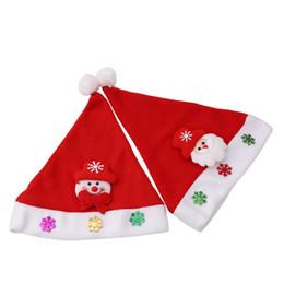 Wholesale black santa hats - Merry Christmas Santa Claus Snowman Christmas Decorations For Home 2017 New Year Christmas Hat Decor Kerst Decoratie Gift
