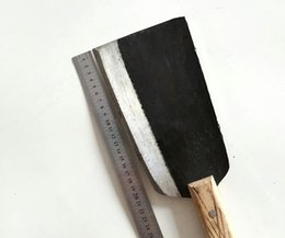 Wholesale Forged Tool Steel - Middle Size Full length 35.5cm cutting bone knife manganese steel cutting knife chef special kitchen knife handmade forged tool