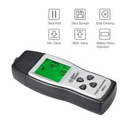 velocidades de fluxo Desconto SMART SENSOR Tacômetro Digital mini 100RPM-30000RPM Medidor de Velocidade Do Motor A Laser Não-Contato Foto rpm medidor + 3 pcs Fita Reflexiva