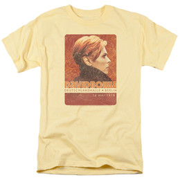 stage shorts Promo Codes - Details zu David Bowie Stage Tour Berlin 78 Licensed Adult T Shirt Funny free shipping Unisex Casual gift