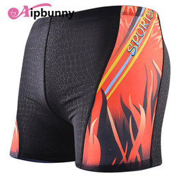 24fd2f5a42 Shorts Pants Boxer Trunks Sungas Surf Hot Mens Printed Boys Bath Swimwear  Sexy Praia Swimming Kg Trunks 70 95