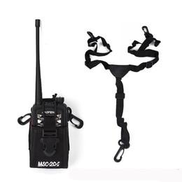 Wholesale case for walkie talkie - NEW Nylon Holster Baofeng Carry Case Holder Walkie Talkie Radio Bag For Icom For Motorola Yaesu Vextex Uv-5r Accessories