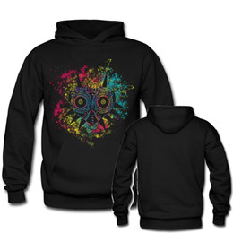 Wholesale Customize Mask - The Legend of Zelda Majoras Mask Hoodie Sweatshirts Clothes Customized High Quality Unisex Pullover Sweatshirt Oversize Tops