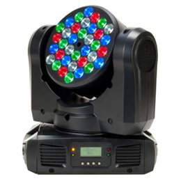 Wholesale Rgb Home Spot - Stage Lighting LED Par Light Spot Beam 108W 36LEDs RGBW (4In1) DMX512 Moving Head for Home Garden Xmas Christmas Birthday Party DJ Disco