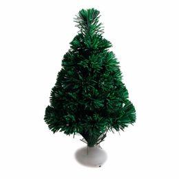 Wholesale Led Fiber Optic Christmas Trees - Hot Christmas tree 45cm fiber optic tree with led luminous lanterns emulation christmas decorations for home