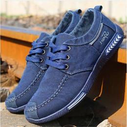 Wholesale Men Plimsolls - Not Smelly Feet Canvas Men Shoes Denim Lace-Up Men Casual Shoes New 2018 Plimsolls Breathable Male Footwear Spring Autumn 99% praise