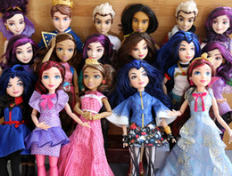 Wholesale Princess Snow - 11'' Original Descendants girl doll multi joint Princess Toys Mermaid Snow White Cinderella