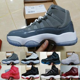 Wholesale Leather Man S Boots - [With Box]Mens basketball shoes Sneaker Legend Blue 11s Space Jam sports sneaker Concorrd Panton Gamma Blue athletic boots s 11