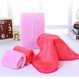 Wholesale wholesale makeup towels - Makeup Remover Face Machine Washable Eco-friendly Clean Mascara Cosmetics with Water Makeup Remover Towel New Makeup Remover Tools 3001262