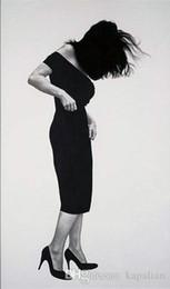 2019 pittura nera rossa fatta a mano Spedizione gratuita Robert Longo Opere d'arte Uomini nelle città Arte di alta qualità Poster Stampa Foto di carta 16 24 36 47 pollici